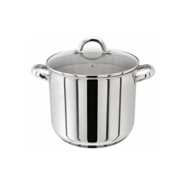 Judge Stainless Steel Stockpot with Glass Lid - 20CM