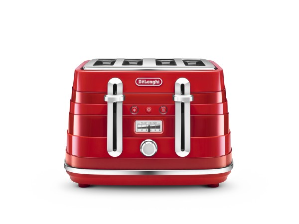 Avvolta 4 Slice Toaster Red