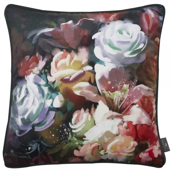 Christies Floral Painted Cushion