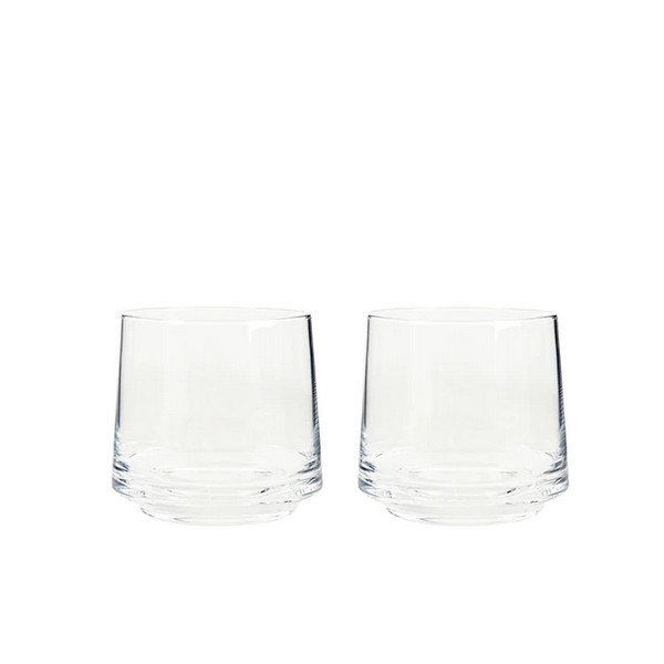 Natural Canvas Set Of 2 Small Tumblers