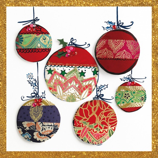 Cocktail Napkin 20 Pack - Christmas Ornaments