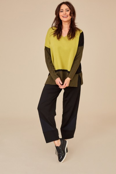 Jersey Trouser With Insets
