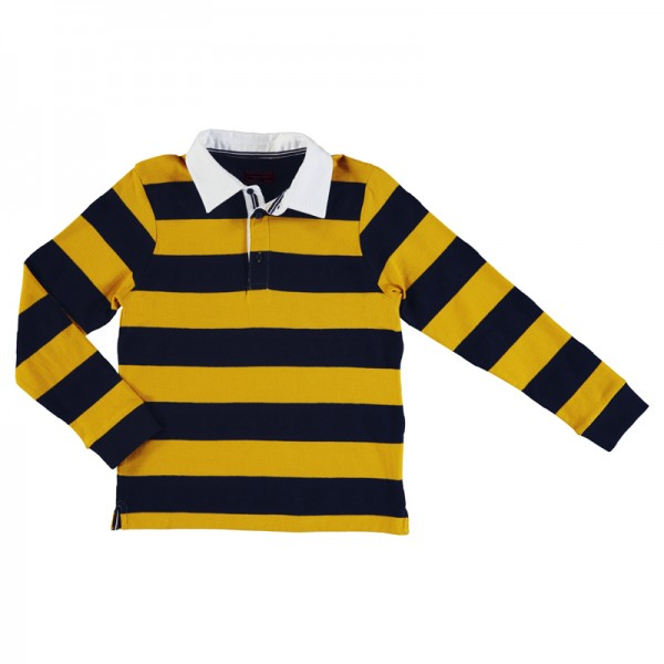 Stripe Rugby Polo