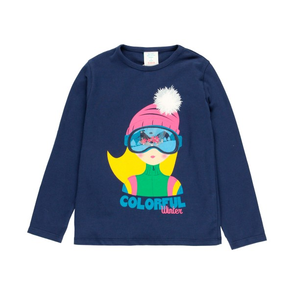 Colourful Winter T-shirt