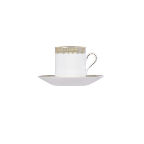 Vera Wang Lace Gold Coffee Saucer