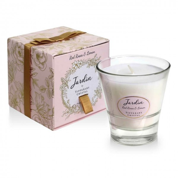 Jardin Collection Candle - Red Roses & Lemon