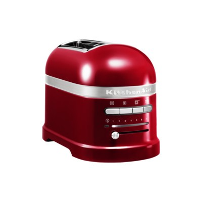 Artisan 2 Slice Toaster Candy Apple Red