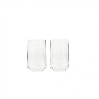 Natural Canvas Set Of 2 Large Tumblers