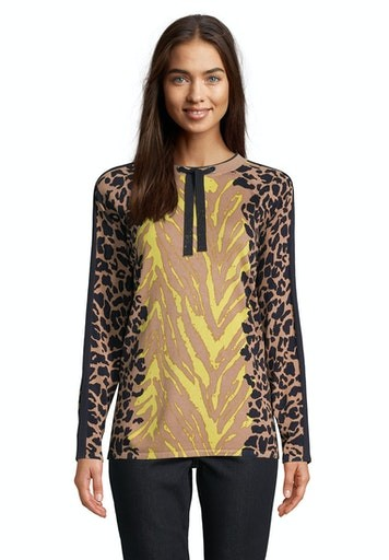 Long Sleeve Print Jumper
