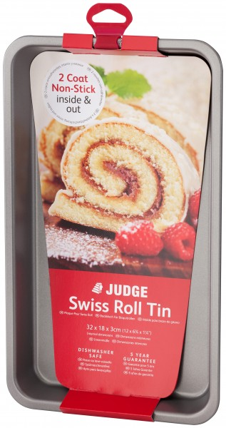 32cm Swiss Roll Tin JB26