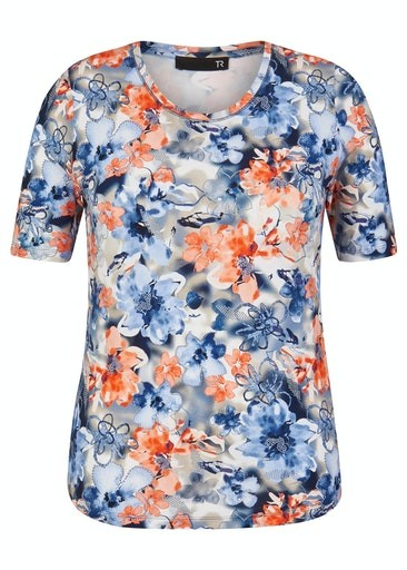 All Over Floral Print T-shirt