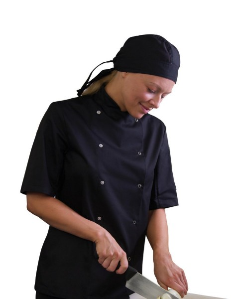 AFD Black Chef Jacket Small