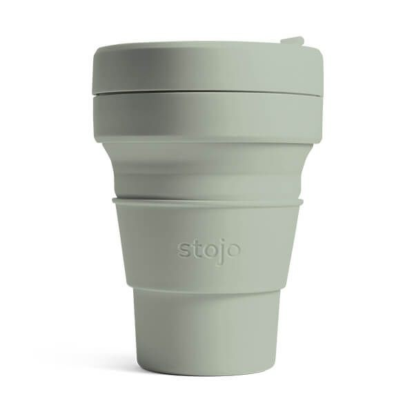 Brooklyn Collapsible Cup 12oz/355ml - Sage