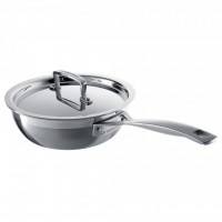 Le Creuset 3PLY 20cm Covered Chefs Pan - Non Stick