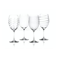 Cheers Set Of 4 Red Wine Glasses
