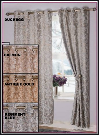 Abel Readymade Eyelet Curtains