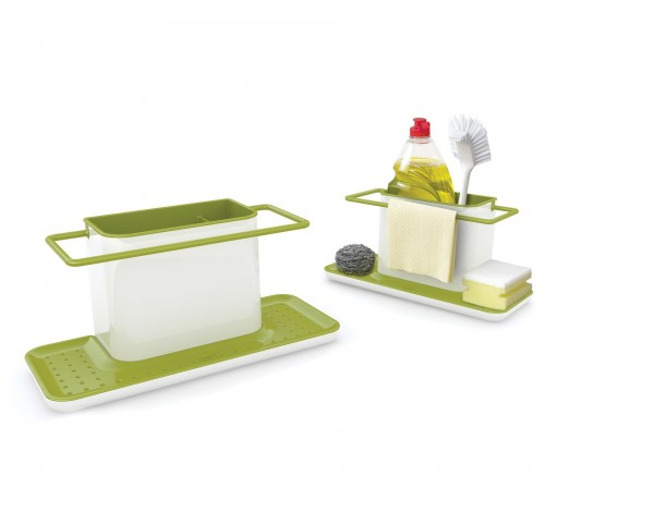 Large Sink Tidy - Green/White