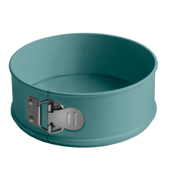"Round Springform, Loose Base Cake Tin 23cm (9"") - Atlantic Green"