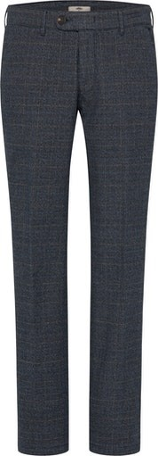 Flat Front Check Trouser