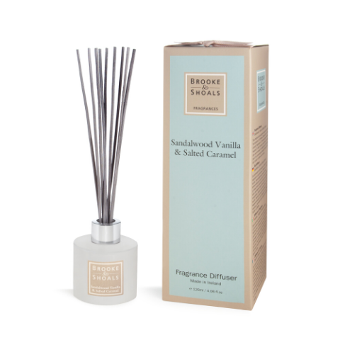 Reed Diffuser - Sandalwood, Vanilla and Salted Carmel