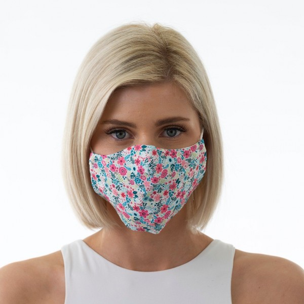 Face Mask Candy Floral