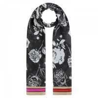 Twill Roses Scarf