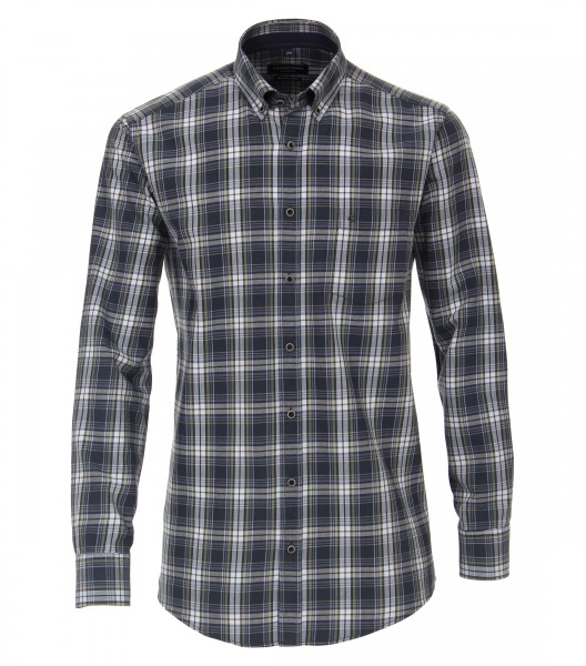 Check Button Down Casual Shirt
