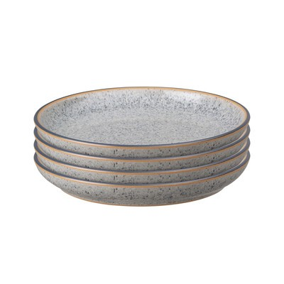 Studio Grey Set of 4 Small Coupe Plates