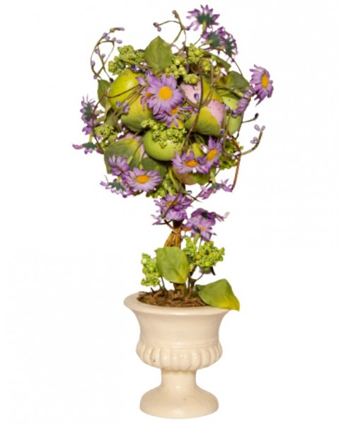 Lilac Easter Topiary Tree