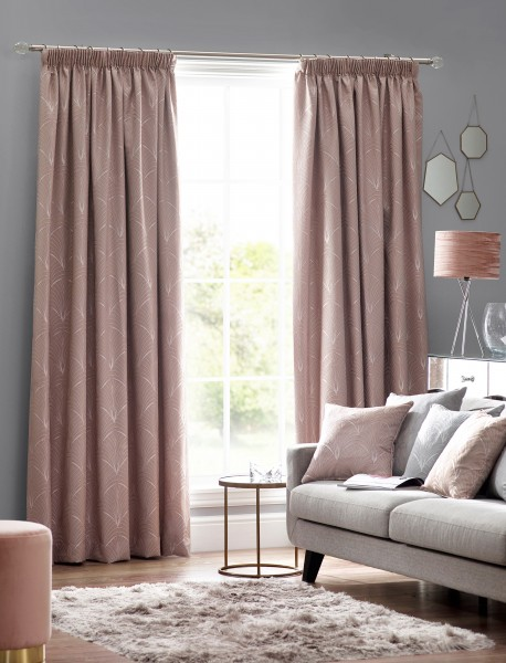 Metro Readymade Pencil Pleat Curtains