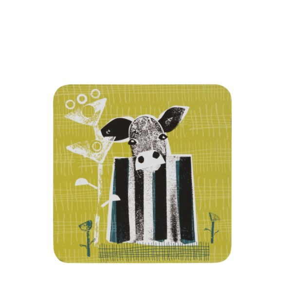 Cow Coasters Set of 6