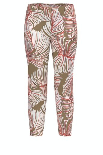 Moving On Up Print Trouser