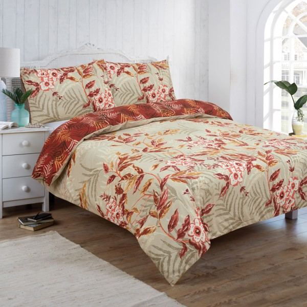 Vantona Coppice Floral Duvet Cover Set