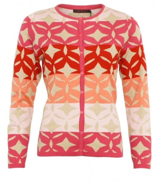 All Over Print Cardigan