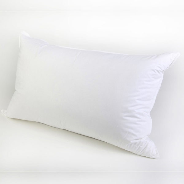 The Soft Bedding Company White Goose Feather & Down Pillow