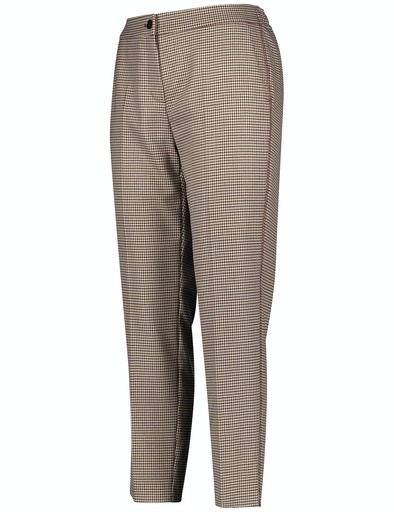 Inspiring Neo Tradition Check Trouser