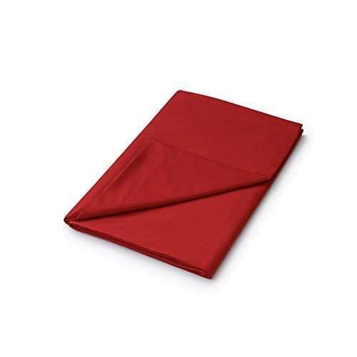 Plain Dye Fitted Sheet - Red