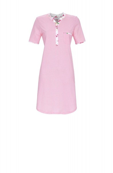 Nightdress With Button Planket