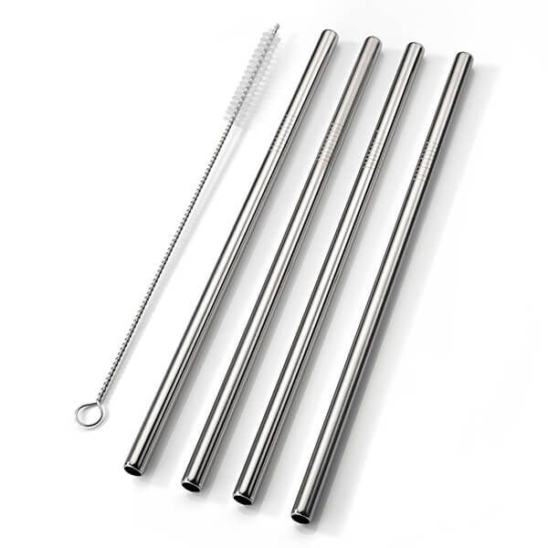 4 Piece Smoothie Straw Set