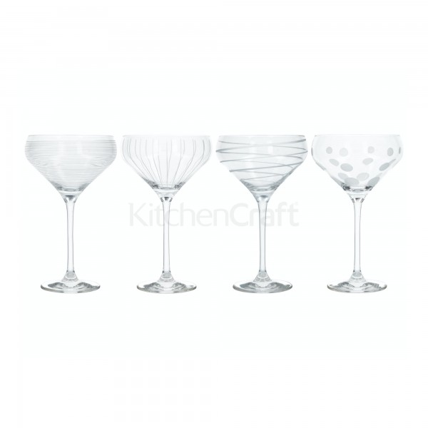 Cheers Champagne Saucer Set Of 4