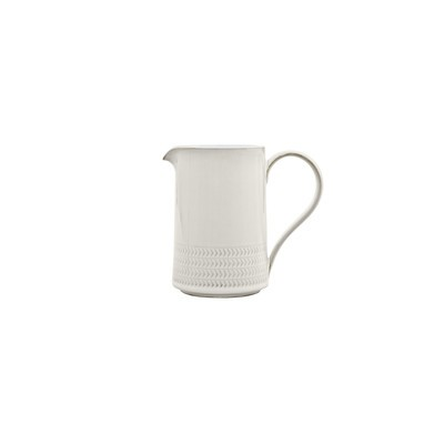 Natural Canvas Textured Medium Jug