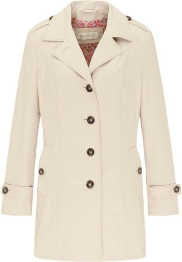 Long Button Front Coat
