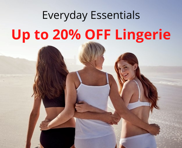Everyday Essentials - Shop Lingerie