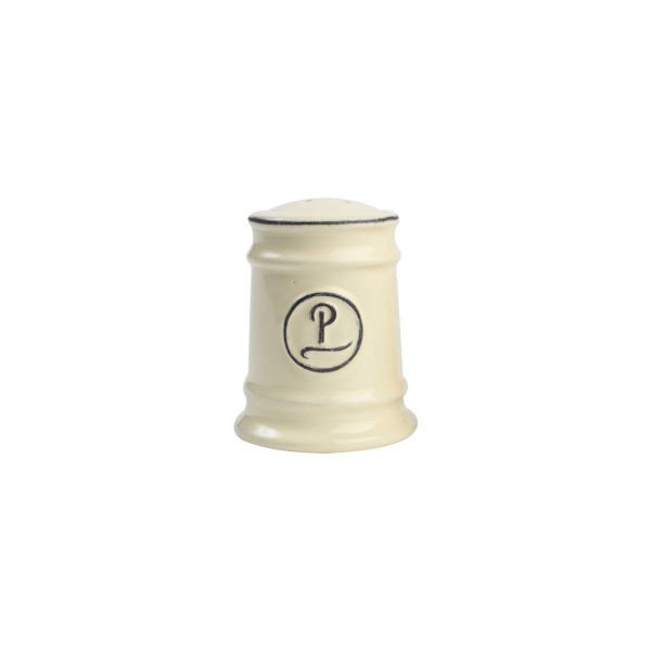 T&G Pride of Place Pepper Shaker in Old Cream