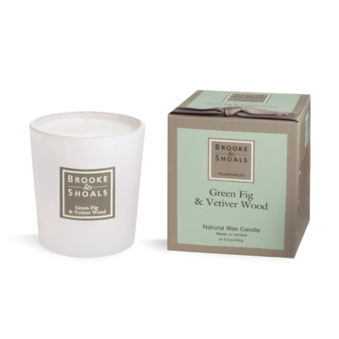 Candle - Green Fig & Vetiver Wood