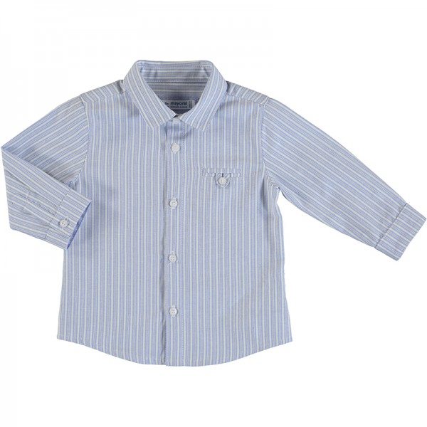 Long Sleeve Stripes Shirt