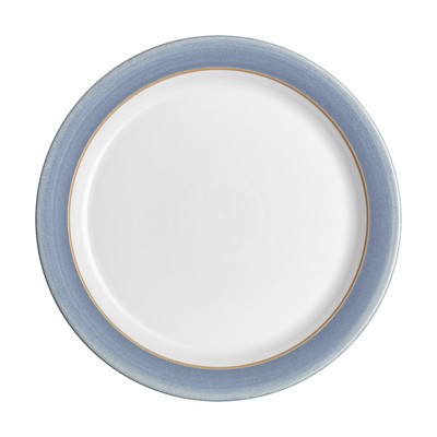Natural Denim Dinner Plate