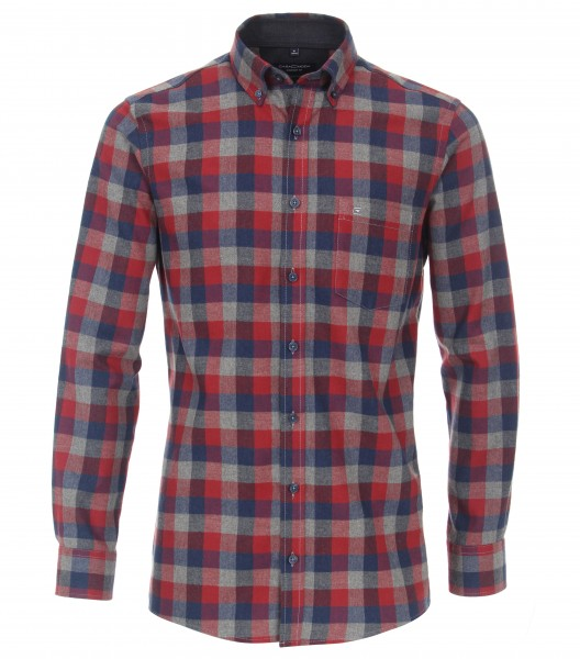 Check Button Down Comfort Shirt