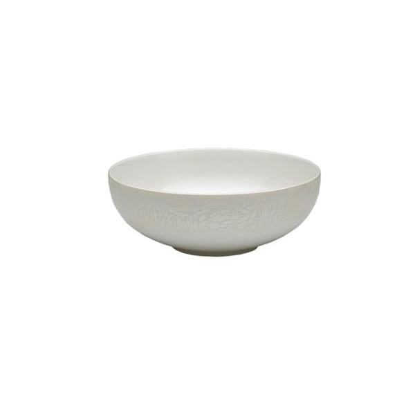 Denby Monsoon Lucille Gold Soup Cereal Bowl