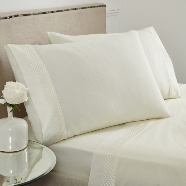 Portland Sheet Set Cream - Single